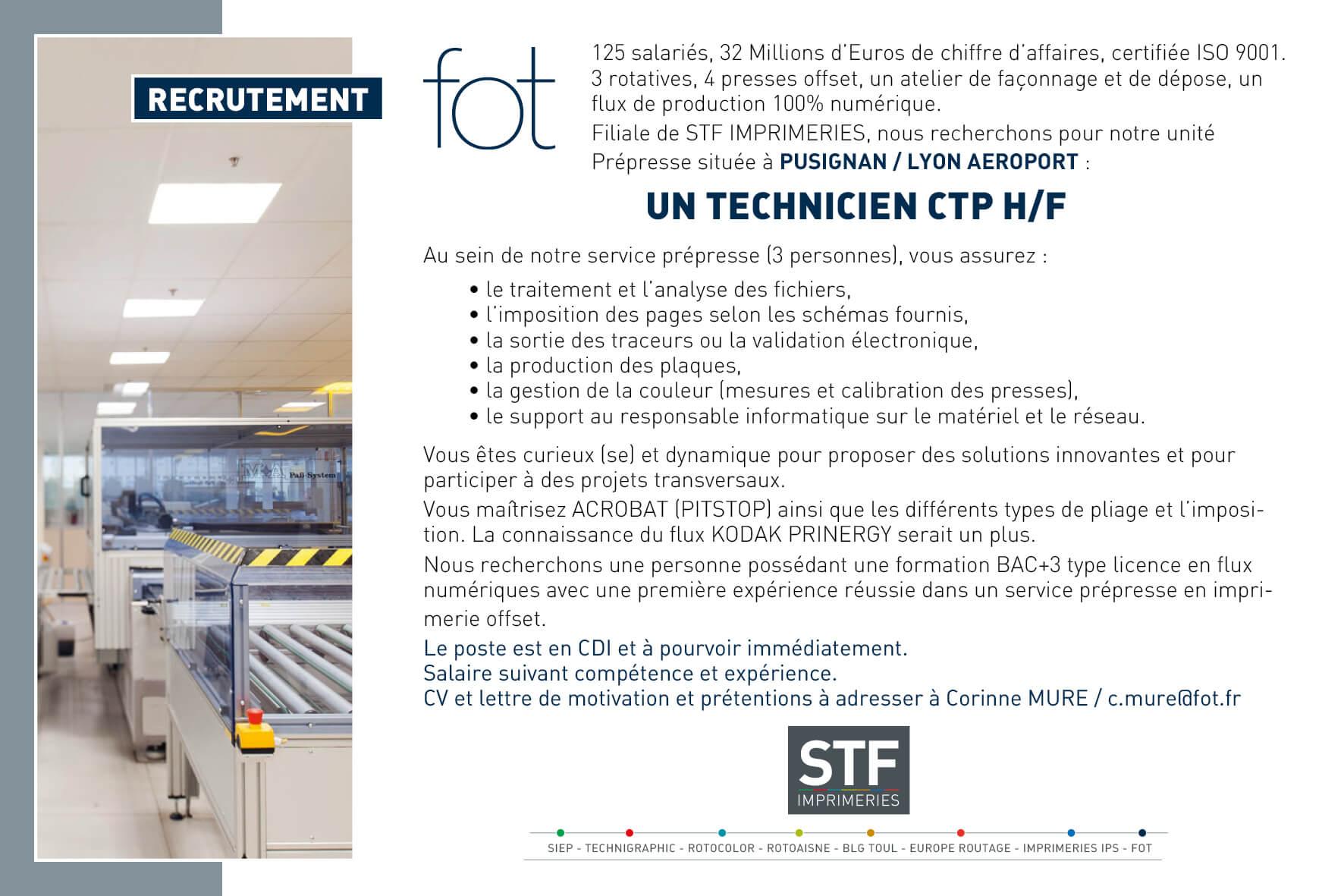 Fot-Technicien CTP-site