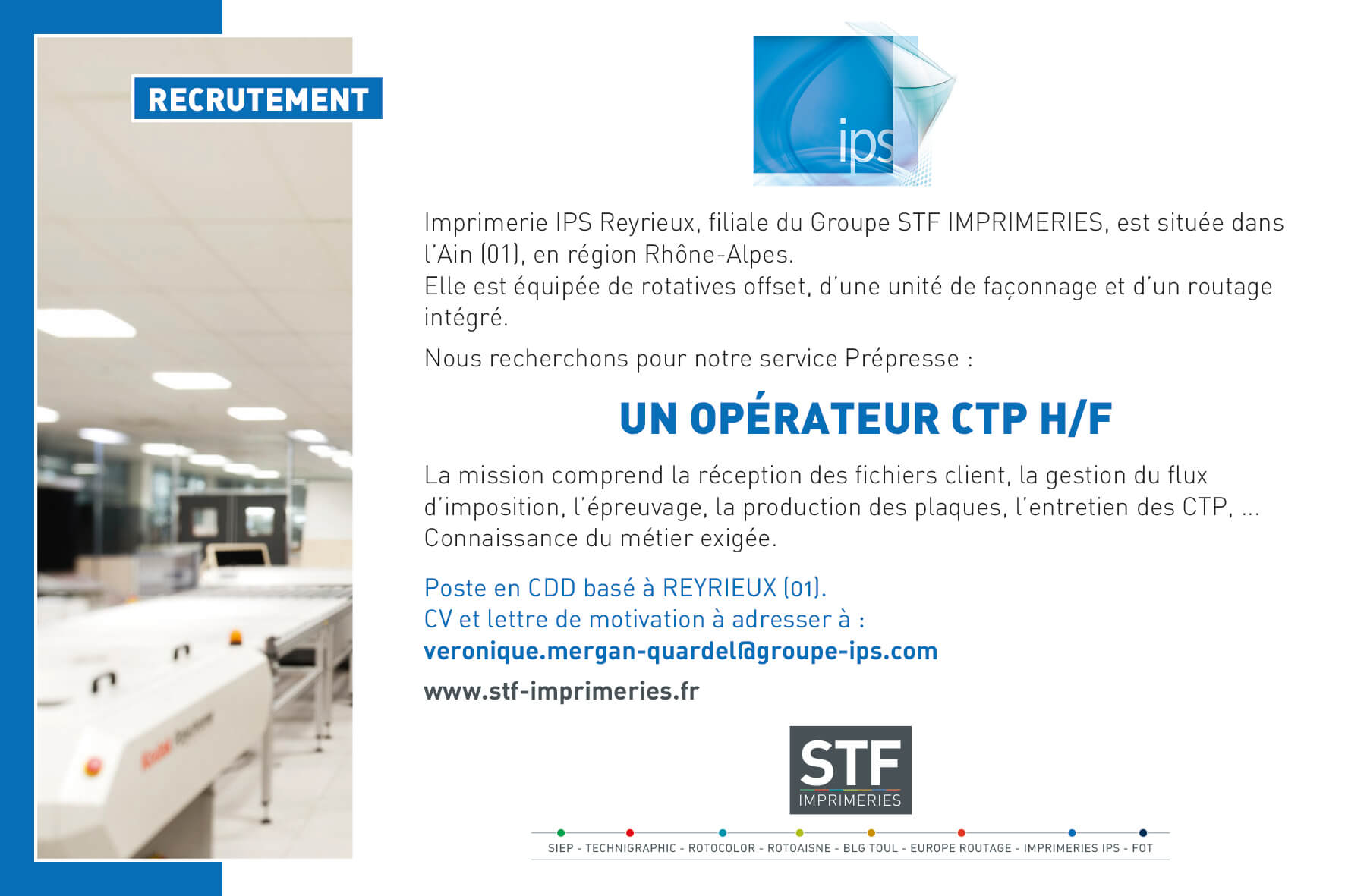 IPS Reyrieux-operateur CTP-site